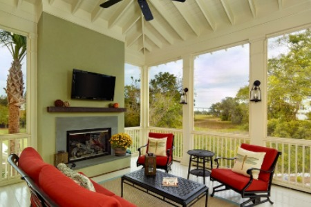 Sunroom and porch contractors in Hilton Head